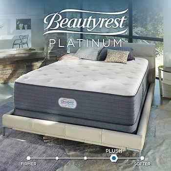 Beautyrest Platinum St Pierre Plush King Mattress Set King