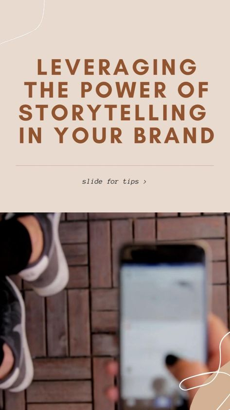 Leveraging the power of storytelling in your brand