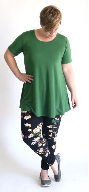 Swing Tunic Sewing Pattern | Tops to Sew | Tunic sewing patterns