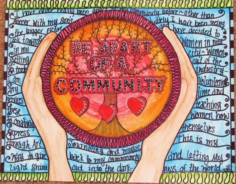 Community Art Project Pages Done! | Community art