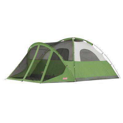 ozark trail 6 person instant cabin tent green