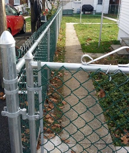 Pin By Alltypefence Company On Chain Link Fence Fence Contractor