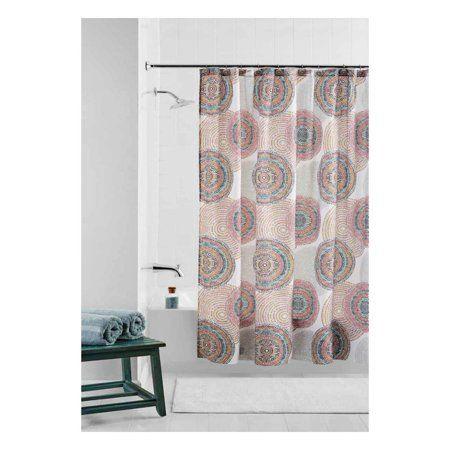 Knight Sun Waterproof Bathroom Polyester Shower Curtain Liner Water Resistant