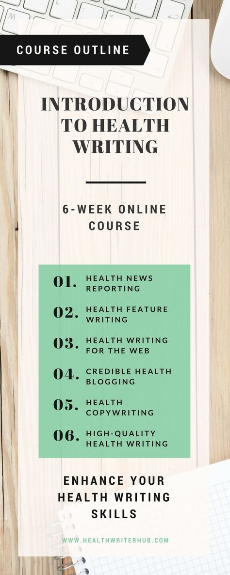 Health Writing Course - Become a Certified Medical Writer