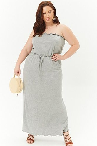 Plus Size Tube Maxi Dress | Products | Tube maxi dresses ...