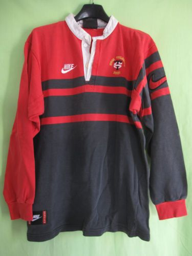 Nike Rugby Shirt First Stage Toulousain 90 039 S Vintage St Toulouse Jersey S Rugby Mens Tops Mens Polo Shirts