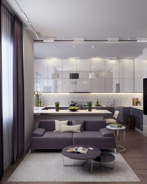 Hexa Sour On Behance Interior Design Small Space Living