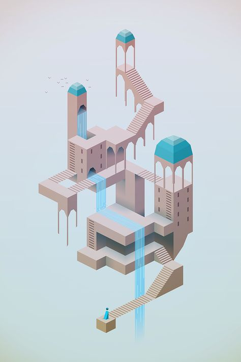 Monument Valley concept - http://monumentvalleygame.squarespace.com/blog