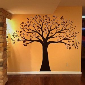 Wall decal Family Tree Wall Decal Photo frame tree Decal | Etsy
