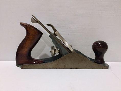 Vintage Sears Craftsman Wood Plane Woodworking Tool Model