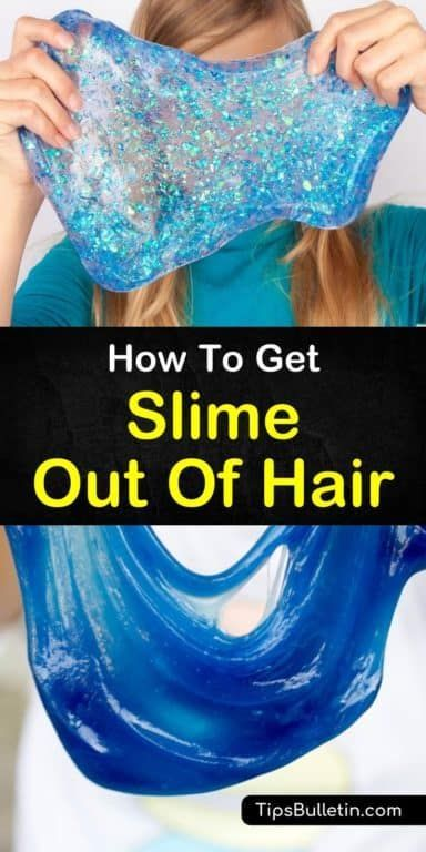 7 Smart Ways To Get Slime Out Of Hair Slime Underarm Hair