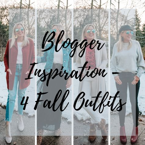 #Easy #Fall #outfits #WOMEN 4 easy to wear fall outfits for women over 40. Doused in Pink | Chicago Style Blog  #fallfashion #falloutfit #falloutfitideas
