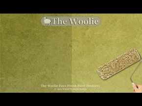 Sponge Roller Faux Finish Painting By The Woolie How To Paint Walls Fauxpainting Youtube Faux Finish Painting Faux Finish Faux Painting
