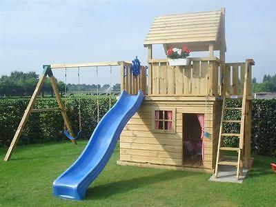 Spielgerat Kinderspielhaus Spielturm Schaukel Rutsche Ebay Kinder Spielhaus Garten Spielhaus Garten Spielturm