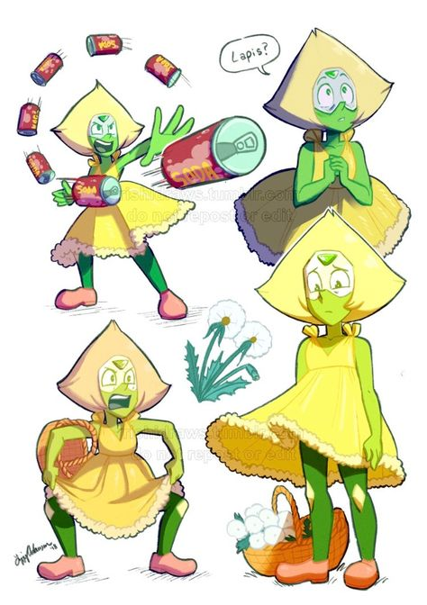 I LOVE PERIDOT SO MUCH AND SHE WAS BEAUTIFUL AND ADORABLE IN THAT DRESS