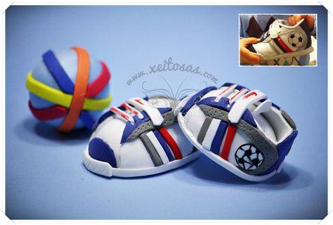 Zapatos para fofucha bebé