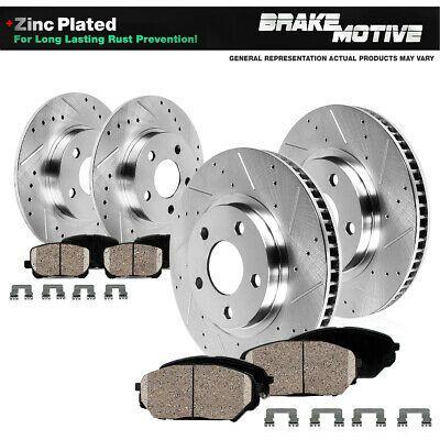 KT102153-1 Max Brakes Front /& Rear Ceramic Pads