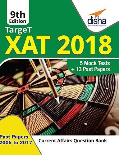 Target XAT 2018 (Past Papers 2005 - 2017 5 Mock Tests