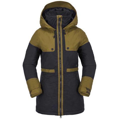 Volcom Comox Insulated Jacket Women S Jackets For Women Insulated Jacket Women Insulated Jackets
