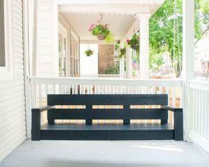 22 Hang Relaxing Front Porch Swing Decor Ideas Homekover Diy Porch Swing Plans Porch Swing Plans Diy Front Porch