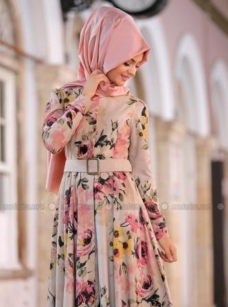 Modanisa Elbise Modelleri 2016 Moda Stilleri Cicekli Elbise Elbise