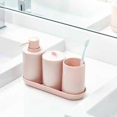 Pink Bathroom Accessories, Peach Bathroom Accessories