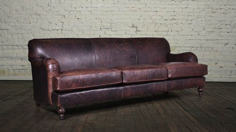 English Arm 88 Tight Back Berkshire Bourbon   Living Room   Pinterest   Leather  Sofas, Arms And English