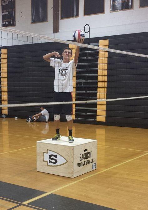 Volleyball Hitting Box Blocking Box Volleyball Training Boxes From Efe Volleyball Training Volleyball Volleyball Drills
