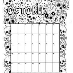October Coloring Pages Download Amazing Design
