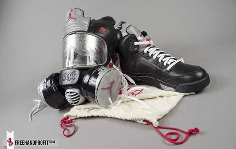 the best attitude b6861 ef9cb Jordan 5 Gas Mask  dope