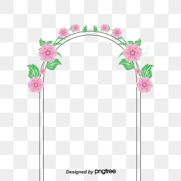 Wedding Marry Flowers Joyous Arch Wedding Vector Arches Vector Wedding Arch Wedding Wedding Vector