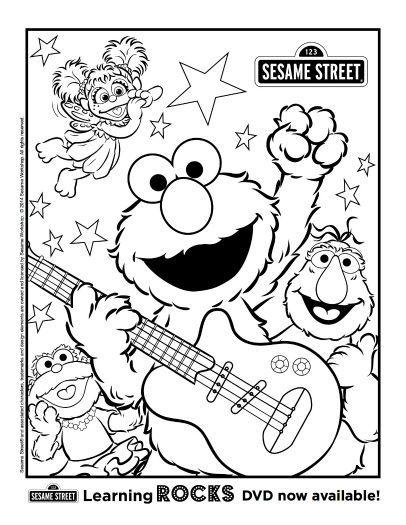 Free Printable Sesame Street Coloring Page Sesame Street Coloring Pages Elmo Coloring Pages Sesame Street