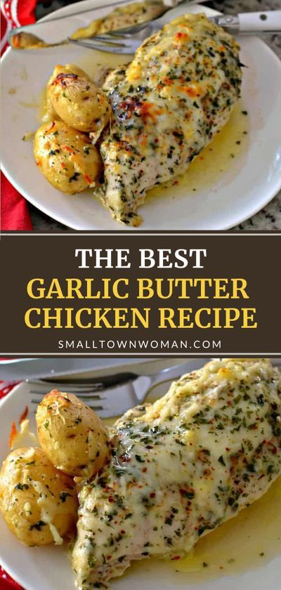 This budget-friendly recipe is easy and dependable! Garlic Butter Chicken can be on the table in 30 minutes. Flavorful chicken breasts and baby potatoes combine with fresh garlic, butter, and mozzarella for an ideal weeknight meal. Add this to your dinner menu ideas!