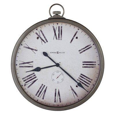 625 310 Magdalen Gallery Wall Clock Distressed Wall Clock Wall Clock