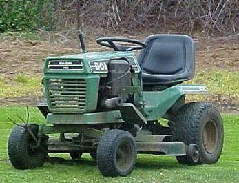 Bolens 5000 Series Lawn Tractor Service Manual