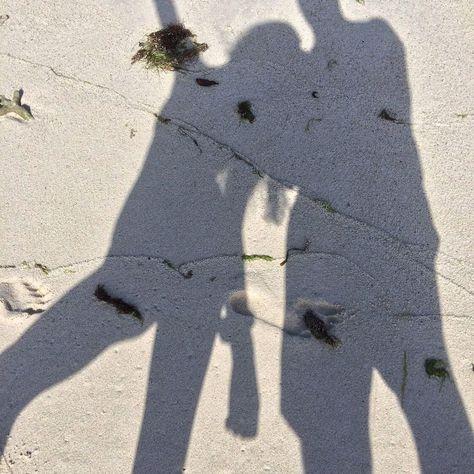 "🤍 on Instagram: ""daddy🤍 #photography #photo #travel #beach #love #shadow"""
