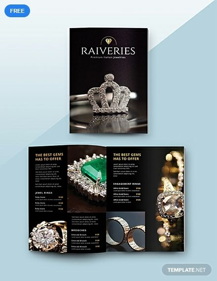 Free Jewelry Catalog Catalog Design Catalog Templates