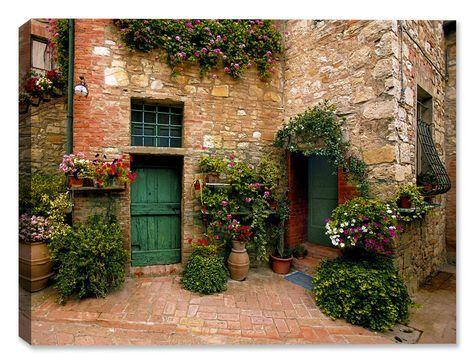 Estate Topscana Fine Art Print Landschaftsbau Haus Und Garten Und Garten Landschaftsbau