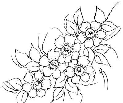 Lindos Riscos Desenhos Para Pintura Pintura Em Tecido