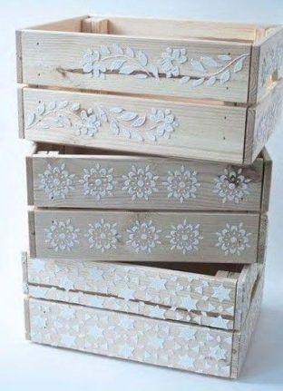 New Painting Wood Box Wooden Crates 39 Ideas Painting Cajas De Madera Ideas Cajones De Madera Pintados Cajones De Verdura