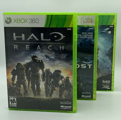 Halo Reach Halo 3 Odst Halo 4 Xbox 360 Games Tested 430 Ebay In 2020 Halo 3 Odst Xbox 360 Games Halo Reach