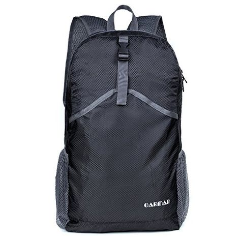 Durable Folding Packable Lightweight Travel Camping Hiking Backpack Daypack UK