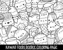 Magical Kawaii Unicorn Coloring Pages To Print Pdf Google Search Cute Coloring Pages Doodle Coloring Food Coloring Pages