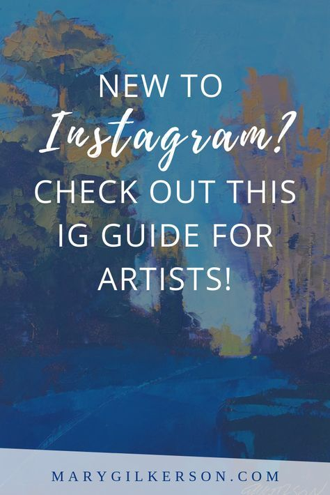 Instagram For Artists Essentials For Getting Started Name For Instagram Instagram Artist Instagram Art