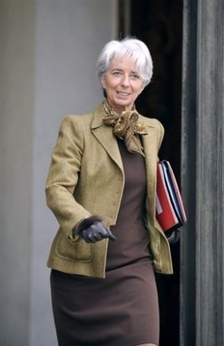 Christine Lagarde - 1956-  Head of the International Monetary Fund and former Minister of Economic Affairs, Industry, and Employment of France.