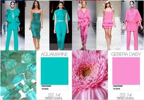 Miss Rich: Spring/Summer 2013-2014 colour trends