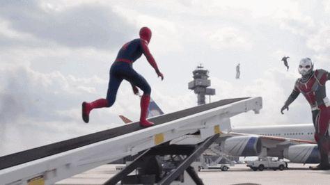 Captain America: Civil War - Spider-Man & War Machine.