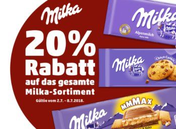 Penny 20 Prozent Milka Rabatt Fur Eine Woche Https Www