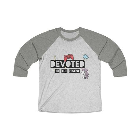 Loose fitting and simple, perfect for going out or staying in playing your favorite game. .: Loose-fit .: 50% Polyester; 25% Soft cotton; 25% Rayon .: Light fabric (4.3 oz/yd² (146 g/m²)) XS S M L XL 2XL Width, in 17.49 19.02 20.52 22.01 24.02 26.03 Length, in 27.25 28.23 29.26 30.24 31.26 32.25 Sleeve length, in 23.43 24.02 24.61 25.2 25.79 26.38