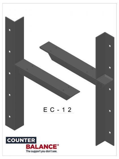 Counterbalance Extended Concealed Bracket Bracket Concealed Countertop Brackets